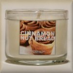 Slatkin and Co. Cinnamon Nut Bread Mini Candle - 1.3oz