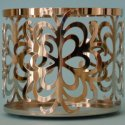 Slatkin and Co. Confection Snowflake 14.5oz Metal Candle Sleeve