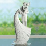 Gina Freehill - The Kiss - Wedding Cake Topper