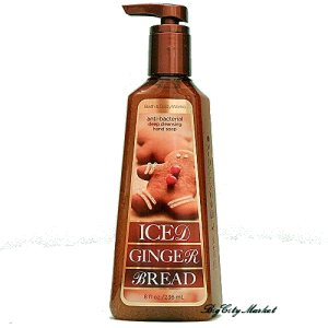 Bath and Body Works Iced Gingerbread Anti-Bac Hand Soap