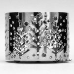 Slatkin and Co. Winter Tree Candle Sleeve - Mini