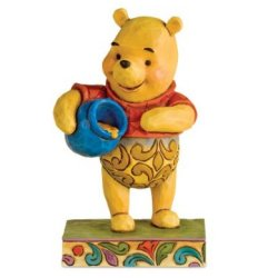 Disney Traditions by Jim Shore 4008081 Winnie the Pooh with Honey Pot