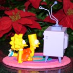Hallmark The Simpsons - TV Time Ornament