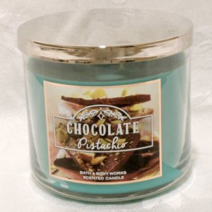 Bath and Body Works Chocolate Pistachio Candle 14.5oz