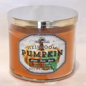 Bath and Body Works Heirloom Pumpkin Candle 14.5oz