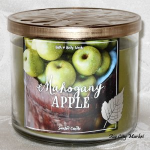 Bath and Body Works Mahogany Apple Candle 14.5oz