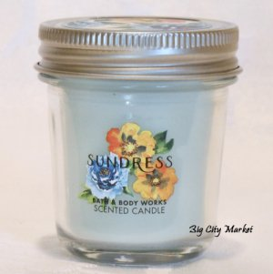 Bath and Body Works Sundress Mini Mason Jar Candle 1.3oz