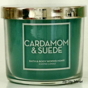 Bath and Body Works Cardamom and Suede 4oz Candle