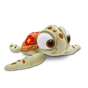 Squirt Plush - Finding Nemo - Mini Bean Bag - 7 1/2 inches