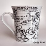 Disney Mickey Mouse Sketchbook Mugs Set