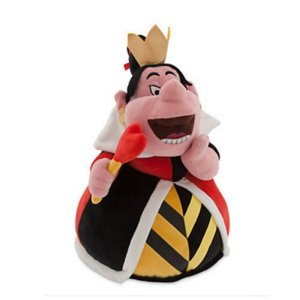 Disney Queen of Hearts Plush - Alice in Wonderland 14 inch