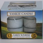 Yankee Candle Early Sunrise Tea Light Candles
