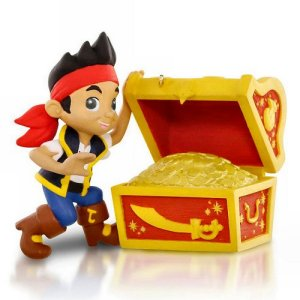 Hallmark Jake The Pirate Going on a Treasure Hunt Ornament