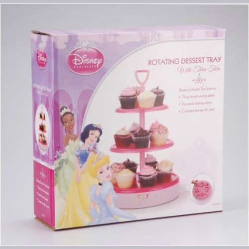 Disney Princess Rotating Dessert Tray - Click Image to Close