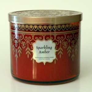 Bath and Body Works Sparkling Amber Candle - 14.5 oz