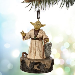 Star Wars Talking Yoda Ornament