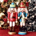Nutcracker Ornament Set of 2