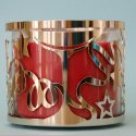 Slatkin and Co. Celebration 14.5oz Metal Candle Sleeve