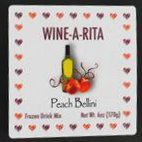 Wine-A-Rita Peach Bellini Beverage Mix 21 oz Bag