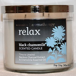 Bath and Body Works Aromatherapy Relax Black Chamomile - 14.5oz