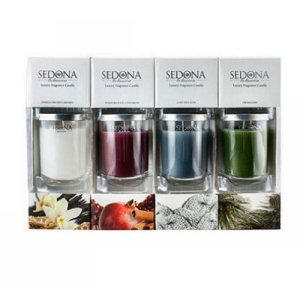 Sedona Botanica Luxury Fragrance Candle Set of 4 - 6.5oz