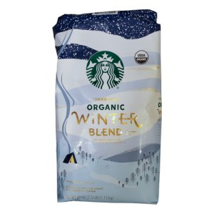 Starbucks Organic Winter Blend Whole Bean Coffee 2.5 lb
