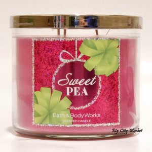 Bath and Body Works Sweet Pea Candle - 14.5oz