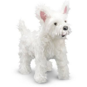 Melissa & Doug West Highland White Terrier Plush